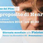 Giornata Mondiale della Fisioterapia:<br> visione del film A proposito di Henry