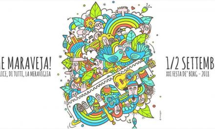 Rimini si tinge dei colori dell'arcobaleno per la Festa de Borg