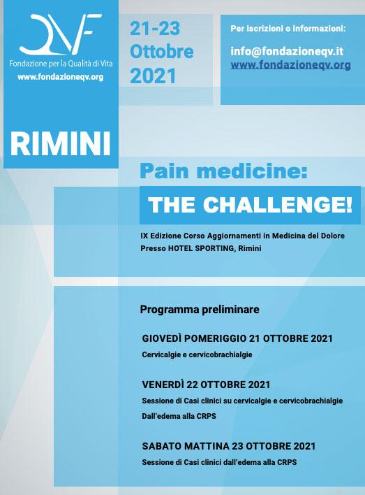 pain medicine the challenge